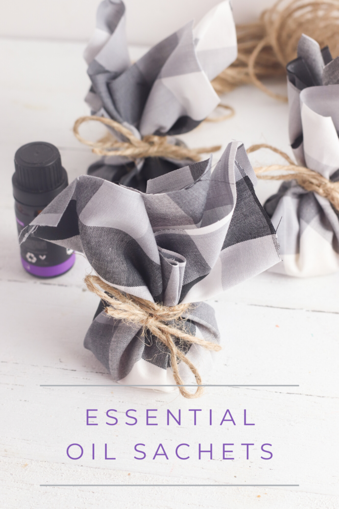 DIY Essential Oil Sachets | Courtney Pies Blog
