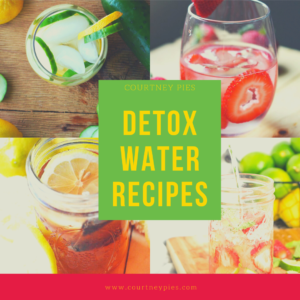 Detox Water Recipes - Sidebar